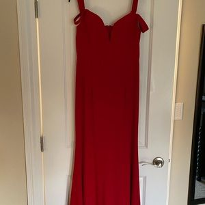 Long gown Red